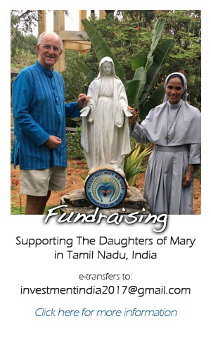 Supporting The Daughters of Mary in India